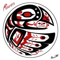 Tribal Raven by ShamanMagic