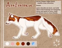 Autumn Reference Sheet by CaitieBerry