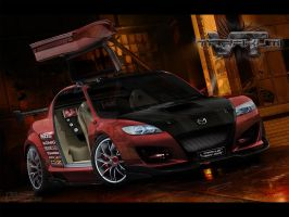 Mazda RX-8 Virtual Tuning by TarakuM