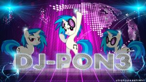 DJ-Pon3 - Wallpaper Luces by ulisesdarklight