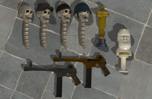 'Team Fortress 2' Weapon pack 1 XPS ONLY!!! by lezisell