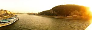 Danube in Budapest by Luci13