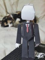 Slenderman Papercraft by menta-RR-66