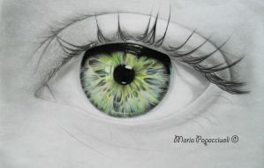 Eye - WIP by MariArt91