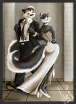 Pepe le Pew and Penelope by Avielsusej