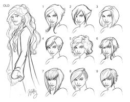 SWtoR - A'veri Hairstyle Sheet by JoJollyArt