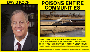 David Koch - Charitable Psychopath by Valendale