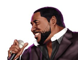 Eddie Levert of The Ojays by ReeceHoward