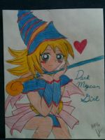 Dark/Black Magician Girl by AliHedge96
