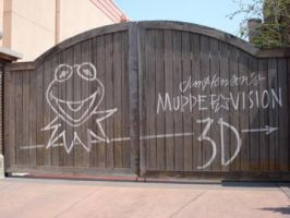 Muppet-Vision 3D gates by MelanieGracey