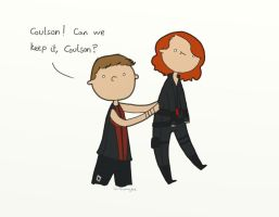 .Can we keep it, Coulson. by bababug