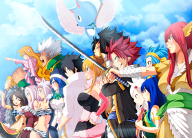 Go! Fairy Tail! -Collab- by Frosch-Sama08