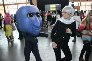 Ao Oni cosplay - At Desucon Frostbite 2013 by JETpackest