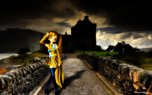 MMD By the banks of the Loch ... by Trackdancer
