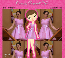 Martina Stoessel Doll (en Violetta) by RoohEditions