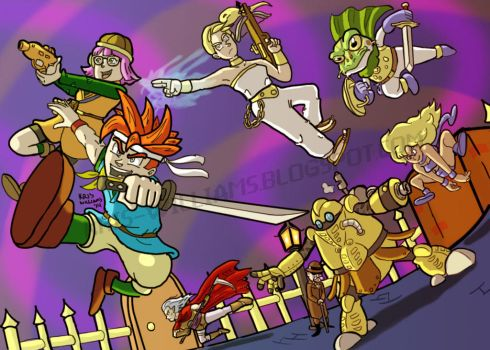 The End of Time - Chrono Trigger by SeltzerWaterfalls