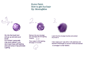 Sumo Paint Tutorial Fur/Hair by MooingMoe
