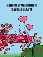 Happy Valentine's Day 2008 by Booter-Freak