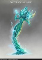 Water Archon by b-cesar