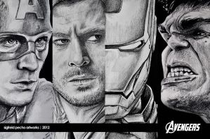 The Avengers by raymundpecho