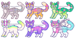 Set price adopts OPEN! LOWERED!!! by catnip5