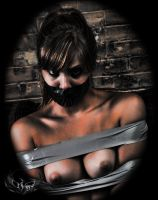 Cutie taped up by Damien2011