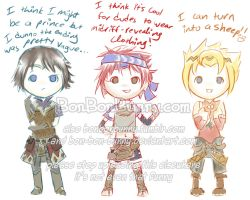 Rune Factory hero guys by MagicalGirlYossy