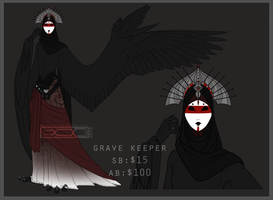 Haroth auction: Keeper  of the Graves [Closed] by Aivomata