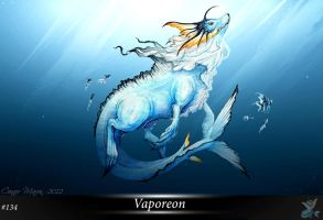Vaporeon by ConnorMaxon