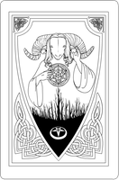 Aquelarre Card Beta, sin color by FiguraT