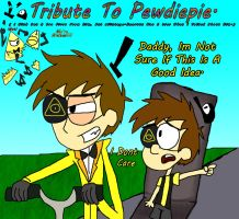 .:. I Dont Care (Tribute To Pewdiepie) .:. by Rise-Of-Majora