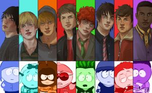 Real South Park by JeyDS