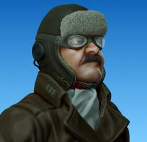 Old Aviator Wip by dematics