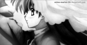 Her Last Sunset (Greyscale - Pencil) by anime-master-96