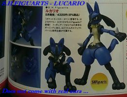 S.H figuarts - Lucario by GIGAN05