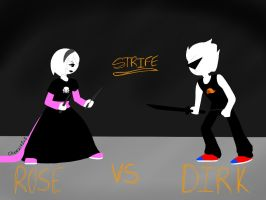WHO WILL WIN? ROSE VS DIRK by Cheezit1x1