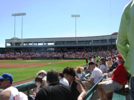 Inside Tempe Diablo Stadium by BigMac1212