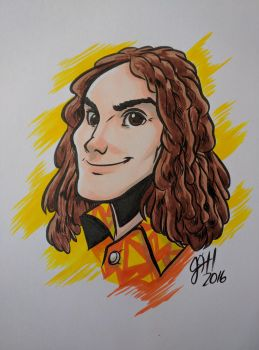 Weird Al Yankovic by joshuadraws
