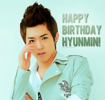 HBD Hyunmin by chazzief
