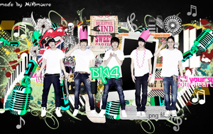 b1a4 wallpaper by MiAmoure