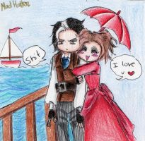 sweeney todd and mrs lovett by Mad-Hatter---x