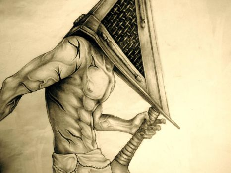 Pyramid Head by silversunned