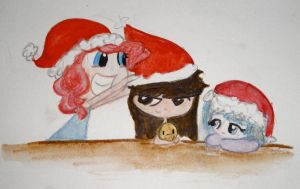 CHRISTMAS HATS FOR EVERYONE!!!! by BeeTrue