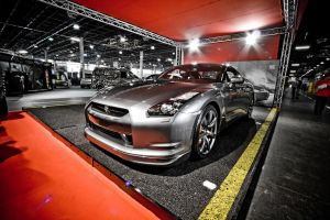 Nissan GT-R Silver by miki3d