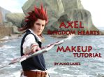 AXEL Kingdom Hearts Makeup tutorial by MischievousBoyAilime