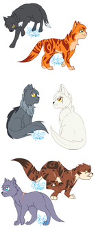 Warrior Cats- Into the Wild by PipsqueakArt