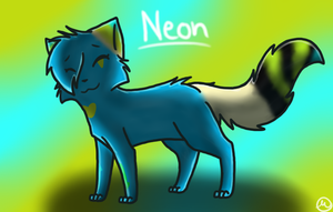 Neon :Gift: by MistDapple