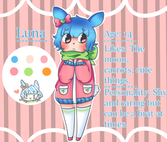 Luna -New OC- by Azuuhime
