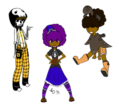 Halloweenie Outfits by Kittkat4812