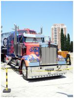 Optimus Prime I by StreetCatProject